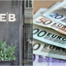 SEB bankas: klientams dėl klaidos nurašyti pinigai grąžinti tą pačią dieną