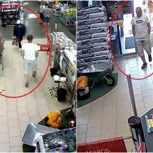 Kauno pareigūnai aiškinasi, kas iš parduotuvės pavogė darbo įrankius