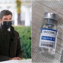 """Prezidentūra: tuščias reikalas svarstyti dėl """"Sputnik V"""" vakcinos naudojimo Lietuvoje"""