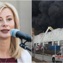 Seimo komitetas aptars Alytuje kilusį gaisrą