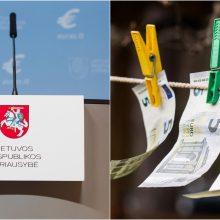 Vyriausybė pasiskolino 15 mln. eurų