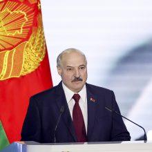 A. Lukašenka: jeigu Baltarusija žlugs – ateis ir kitų šalių eilė