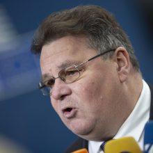 L. Linkevičius: Astravo AE paleidimas projektuojamas pagal rinkimų tvarkaraštį