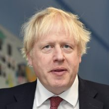 """B. Johnsonas atsisakė prieš rinkimus suvienyti jėgas su """"Brexit"""" partijos lyderiu"""