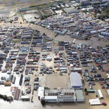 Japoniją nusiaubusio taifūno aukų padaugėjo iki 40