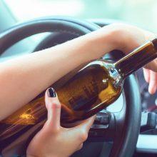 Kėdainių rajone sulaikytai vairuotojai – sunkus girtumo laipsnis