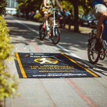 Vilniuje duobės pradėtos taisyti kilimais
