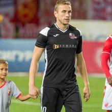 LFF kreipėsi į UEFA dėl V. Slavicko traumos