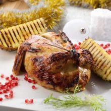 Kalėdos kitaip: keptas viščiukas su klevų sirupu