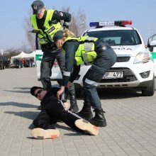 Lietuvos policijos mokykla kviečia į atvirų durų dieną