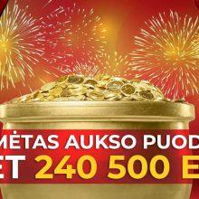 Kas laimėjo Aukso puodą su daugiau nei 240 tūkst. eurų?
