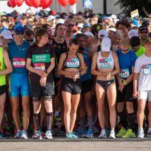 """""""Citadele Kauno maratone"""" dėl medalių kovos per 1000 bėgikų"""