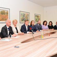 """""""Valstiečiai"""" pristatė Kauno komandą"""