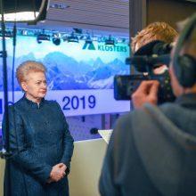 Prezidentė: situacija dėl moterų Vyriausybėje blogėja, bet kvotos nepadės