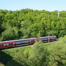Kelionė traukiniu tarp Vilniaus ir Kauno truks maždaug pusvalandį