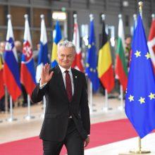 """G. Nausėda: """"Brexit"""" susitarime yra tai, ko tikėjomės"""