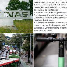 Patarimai pirmakursiams Kaune: atvykę automobiliais raktelius išsiųskite šeimai