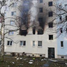 Sprogimas daugiabutyje Vokietijoje: sužeisti mažiausiai 25 žmonės