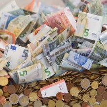 Bedarbis įtariamas iš kredito unijos išviliojęs beveik 64 tūkst. eurų