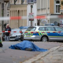 Šaudynės Vokietijoje: žuvo mažiausiai du žmonės