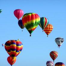 Keisis skrydžių oro balionais tvarka virš Vilniaus