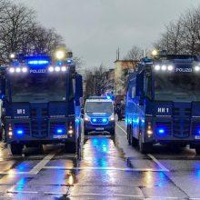Vokietijoje automobiliui įsirėžus į karnavalo eiseną sužeisti keli žmonės