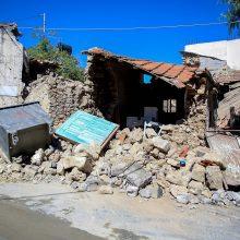 Kretą supurtė 6,3 balo žemės drebėjimas