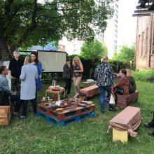 Vilijampolėje menininkai kvietė į dirbtuves