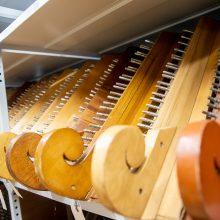 Prabilo Kauno miesto muziejaus saugykloje laikomi muzikos instrumentai