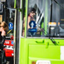 Nelaimės Kauno viešajame transporte: nukentėjo du žmonės
