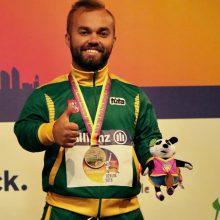 Europos neįgaliųjų lengvosios atletikos čempionate – bronzinis debiutas