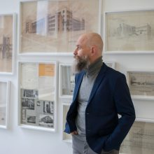 Žinomo architekto archyve – daugiau nei vieno žmogaus istorija