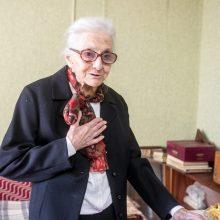 Šimtametė kaunietė atskleidė savo ilgo ir gražaus gyvenimo paslaptį