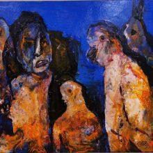 """V. K. Slavinsko parodoje """"Kitokios versijos"""" – ieškojimai ir atradimai"""