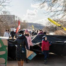 Šančiuose nerimsta aistros dėl gatvės prie Nemuno: surengta protesto akcija