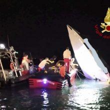 Venecijoje per motorinės valties avariją žuvo trys žmonės