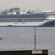 Mirė ketvirtas žmogus iš karantinuoto laivo Japonijoje