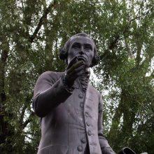 Dėl vokiečių filosofo I. Kanto Kaliningrade verda aistros