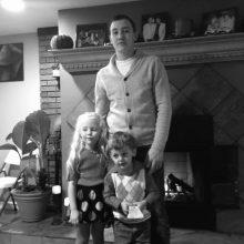 Lukas su broliu ir sese