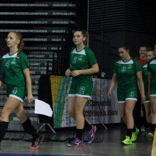 Lietuvos merginų rankinio rinktinės laukia kova dėl patekimo į pusfinalį