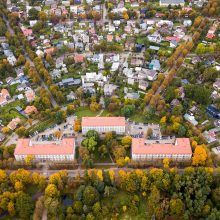 Žaliakalnis – modernizmas gamtos apsuptyje