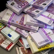 Į Lietuvos iždą įplaukė 300 mln. eurų – antroji EIB paskolos dalis
