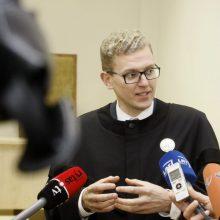 Teismas neleido suimti advokato G. Danėliaus