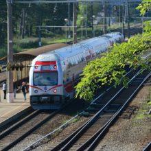Laikinai keisis maršruto Vilnius-Kaunas traukinių eismas