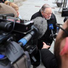 V. Landsbergis ragina iškelti bylą M. Gorbačiovui
