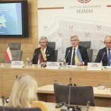 Lietuvos, Lenkijos ir Ukrainos parlamentų vadovai planuoja bendrą vizitą į JAV