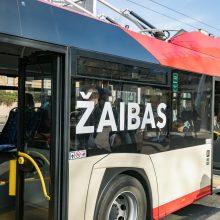 Vilniečiai naujiems autobusams ir troleibusams išrinko vardus