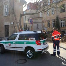 Vilniaus centre rastas sprogmuo