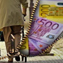 Seimas priėmė svarstyti tryliktąją pensiją įteisinančias pataisas