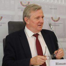 R. J. Dagys neskuba atsakyti, ar dalyvaus Seimo rinkimuose